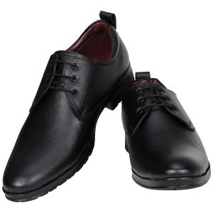 Buy Black Formal Shoes For Men from Agra online