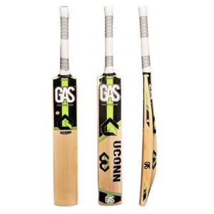Buy Gas Kashmir Willow Cricket Bat Uconn-green And Black online