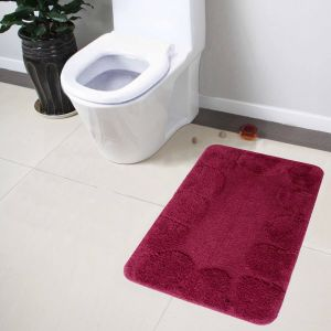 Buy Lushomes Ultra Soft Cotton Burgundy Large Bathmat online