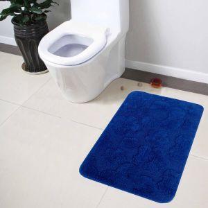 Buy Lushomes Ultra Soft Cotton Ultramarine Large Bathmat online