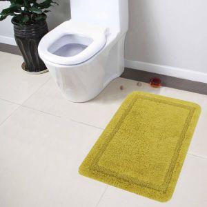 Buy Lushomes Ultra Soft Cotton Fluorescent Green Regular Bath Mat online