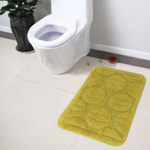 Buy Lushomes Ultra Soft Cotton Fluorescent Green Medium Bath Mat online