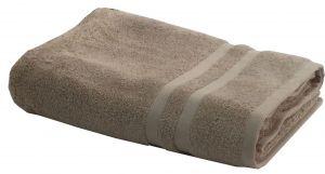 Buy Lushomes Premium Terry Cotton Beige Bath Towel (Super Absorbent) online