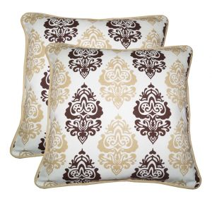 Buy Lushomes Earth Print Cotton Cushion Covers Pack Of 2_coccpd16_1011 online