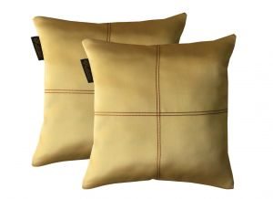Buy Lushomes Strong Ground Blackout Cushion Cover With Artistic Stitch online