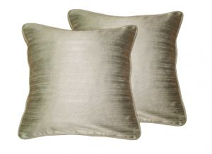 Buy Lushomes Metal Twinkle Star Cushion Covers 12 X 12 Pack Of 2 online