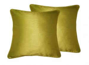 Buy Lushomes Ginger Twinkle Star Cushion Covers 12 X 12 Pack Of 2 online