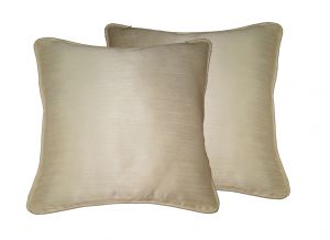 Buy Lushomes Off-white Twinkle Star Cushion Covers 12 X 12 Pack Of 2 online