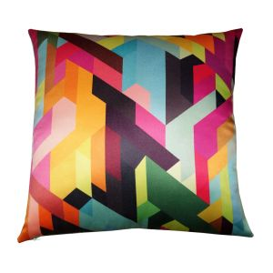 Buy Lushomes Digital Printed Aztec Cushion Cover On Premium Whiteout Fabric online