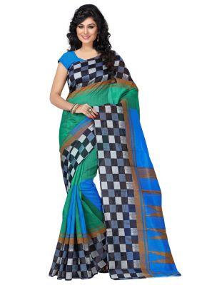 Buy Wama Fashion Cotton Silk Sari (tz_box_rama) online