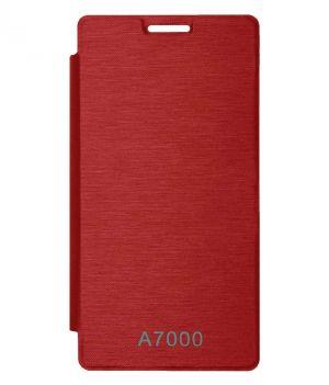 quality design 2e2cc 4f1ef Tbz Flip Cover Case For Lenovo K3 Note / A7000 - Red