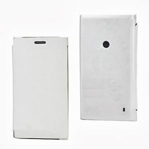 Buy Nokia Lumia 520 Flip Case Cover (white) online