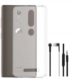 best service 1076e f5772 Buy Tbz Transparent Silicon Soft Tpu Slim Back Case Cover For Gionee ...