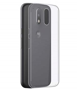 the latest 3c4c5 ec1af Tbz Transparent Silicon Soft Tpu Slim Back Case Cover For Motorola Moto M