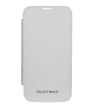 new concept 9457e 6fe55 Tbz Flip Cover Case For Samsung Galaxy Note II N7100 -white