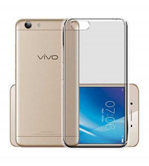 best website 986d4 a9bd8 Tbz Transparent Tpu Back Case Cover For Vivo Y53