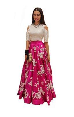 Metroz Designer Pink Benglori Hand Work Lehenga Suit - Astrd538