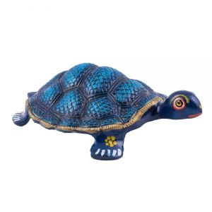Buy Coloured Vastu Tortoise (blue) online