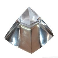 Buy Crystal Pyramid 60gm By Pandit Nm Shrimali online