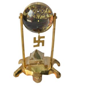 Buy Divya Tortoise Shree Yantra With Pyramid And Swastik By Pandit Nm Shrimali online
