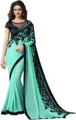 Buy Avenue Creation Light Green Bollywood Saree online