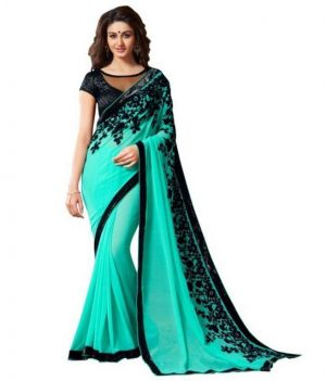 Buy Sunsilk Emroidered Designer Saree online