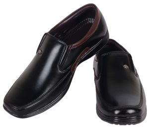 Buy George Adam Party Wear Slip On Shoes - Black online