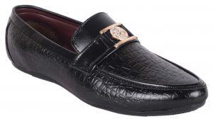 Buy George Adam Mens Slipon Loafers Shoes - Black online