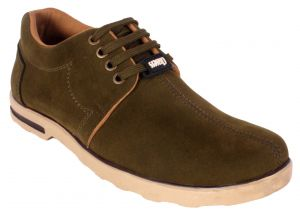 Buy George Adam Mens Synthetic Leather Green Casual Shoes online