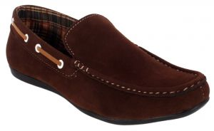 Buy George Adam Mens Synthetic Leather Brown Loafers (code - Ch_2201_brown) online