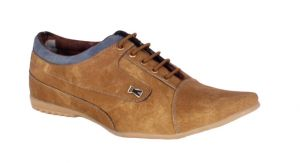 Buy George Adam Mens Synthetic Leather Chikoo Casual Shoes (code - Nh_012_cheeku) online