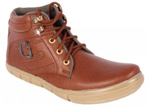Buy George Adam Mens Synthetic Leather Tan Casual Shoes (code - Rk_020_tan) online