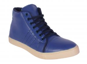 Buy George Adam Mens Synthetic Leather Blue Casual Shoes (code - Yp_002_blue) online