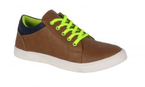 Buy George Adam Mens Synthetic Leather Tan Casual Shoes (code - Yp_003_tan) online