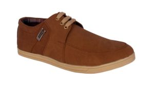 Buy George Adam Mens Synthetic Leather Tan Casual Shoes online