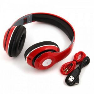 Buy Wireless Bluetooth Headphones With Fm/sd Card Slot/ Call Attending Feature online