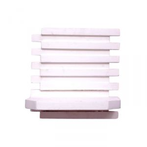 Buy Onlineshoppee Beautiful Wooden Wall Rack Size (lxbxh-10x6x10) Inch,color-white online
