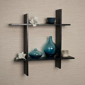 Buy Onlineshoppee Wall Decor Plus Style Wooden Wall Shelf/rack Size (lxbxh-15x4 online