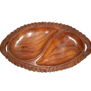 Buy Onlineshoppee Wooden Dry Fruits Tray Os32 online
