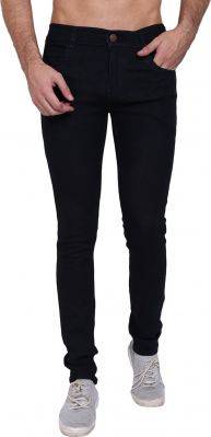 Buy Senator Stylish Black Jeans For Men online