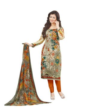 Buy Multi Retail Multicolor Embroidered Cotton Unstitched Dress Material With Dupatta_b764dlsf591sn online