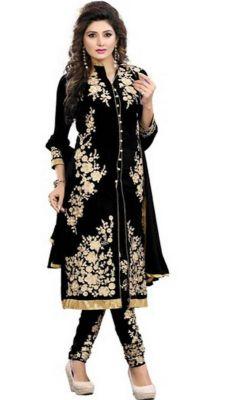 Buy Sastu N Saru Women's Georgette Dress Materials online