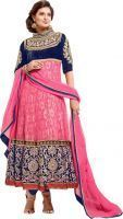 Buy Sayali Bhagat In Pink Floor Length Anarkali Suit online