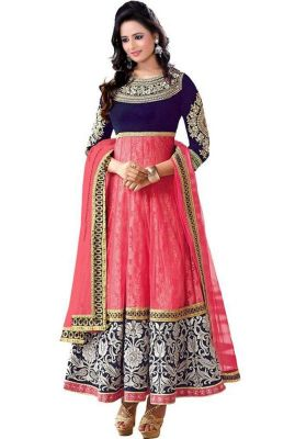 Buy Pink Fancy Anarkali Dress online