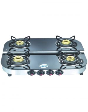 Buy Meglio Glass Black Gas Stoves _ Tondodd_ai14 online
