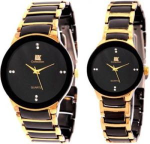 Buy New  Iik Collection Couple Watch Luxury Analog Watch - For Men, Women, Boys, Girls online