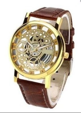 Buy New Brown Open Time Super Stylish Wrist Watch For Men Women online