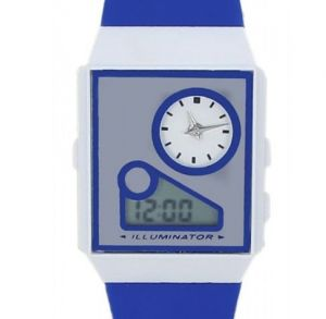 Buy Blue Analog And Digital Casual Watch For Woman online