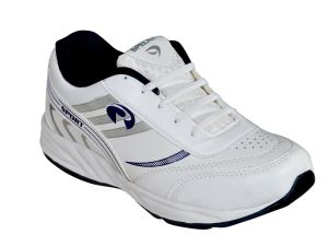 Buy Jollify Spelax Mens White And Blue Sport Shoes online