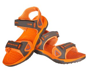 Buy Jollify Mifex Grey Orange Sandal(dc1) online